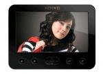 KW-E706C-B Monitor głośnomówiący, obudowa w kolorze czarnym, 7 cali, wideodomofon KENWEI