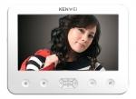 KW-E706C-W Monitor głośnomówiący, obudowa w kolorze białym, 7 cali, wideodomofon KENWEI