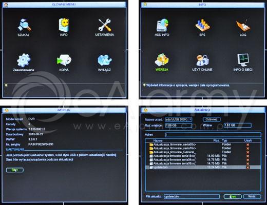 Baza wiedzy - Aktualizacja oprogramowania BCS - rejestrator hybrydowy