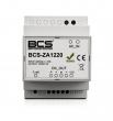BCS-ZA1220 Zasilacz impulsowy, 12 V, na szynę DIN, do systemu wideodomofonowego IP BCS