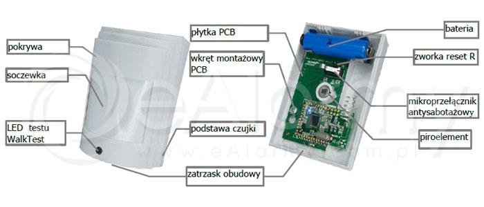 Opis cyfrowego detektora PIR Smart Aero Ropam