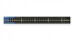 LGS552P-EU Switch Managed 52 porty Gigabit Ethernet z PoE+ Linksys