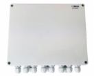 BCS-IP8/Z/E-S Zasilacz impulsowy do 8 kamer IP, switch PoE, zewnętrzny