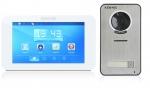 Zestaw: monitor natynkowy KW-E709TC-W + kamera KW-S201C-1B wideodomofon KENWEI