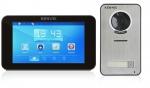 Zestaw: monitor natynkowy KW-E709TC-B + kamera KW-S201C-1B wideodomofon KENWEI