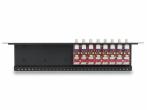 LHD-8R-PRO Zabezpieczenie przeciwprzepięciowe, 8 kanałów Video, koncentryk i skrętka EWIMAR