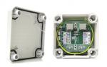 BOX PTF-1-EXT/PoE Zabezpieczenie przeciwprzepięciowe, zewnętrzne, funkcja PoE EWIMAR