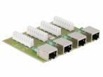 PTU-4-PRO/PoE Moduł zabezpieczenia przeciwprzepięciowego, 4 kanały, funkcja PoE EWIMAR