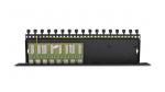 PTU-8R-PRO/PoE Zabezpieczenie przeciwprzepięciowe, 8 kanałów, skrętka UTP, ochrona PoE EWIMAR