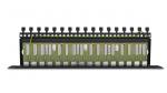 PTU-16R-ECO/PoE Zabezpieczenie przeciwprzepięciowe, 16 kanałów, skrętka UTP, ochrona PoE EWIMAR