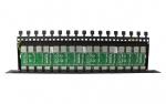 PTF-16R-PRO/PoE Zabezpieczenie przeciwprzepięciowe, 16 kanałów, skrętka UTP/FTP, ochrona PoE EWIMAR