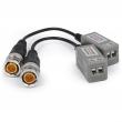 EVX-T103-AHD Transformator video AHD CVI TVI pasywny BNC 1080p, zestaw 2 szt. EVERMAX
