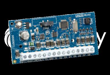 HSM2208 Moduł rozszerzenia, 8 wyjść PGM, kompatybilny z HS20xx / HS2128 DSC