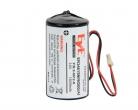 0-102710 Bateria litowa do sygnalizatorów DSC PG8901 / PG8911, 3.6 V 14.5 Ah DSC