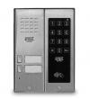 5025/2D-ZK-RF Panel rozmówny z czytnikiem zbliżeniowym i dotykowym zamkiem kodowym, 2 przyciski wywołania URMET