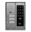 5025/3D-ZK-RF Panel rozmówny z czytnikiem zbliżeniowym i dotykowym zamkiem kodowym, 3 przyciski wywołania URMET