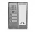 5025/3D-RF Panel rozmówny z czytnikiem zbliżeniowym i modułem informacyjnym, 3 przyciski wywołania URMET