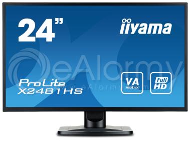 ProLite X2481HS-B1 Monitor 24'' FullHD, matryca VA IIYAMA