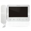 KW-E705FC/W100-W Monitor słuchawkowy 7 cali, biały, wbudowany moduł pamięci, wideodomofon KENWEI