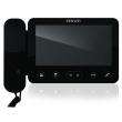 KW-E705FC/W100-B Monitor słuchawkowy 7 cali, czarny, wbudowany moduł pamięci, wideodomofon KENWEI