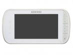 KW-E703FC/M200-W Monitor głośnomówiący 7 cali, biały, wbudowany moduł pamięci, wideodomofon KENWEI