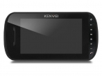 KW-E703FC/M200-B Monitor głośnomówiący 7 cali, czarny, wbudowany moduł pamięci, wideodomofon KENWEI