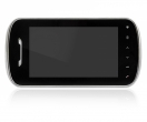KW-E703FC-B Monitor głośnomówiący 7 cali, czarny, wideodomofon KENWEI