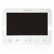 KW-E706FC/W200-W Monitor głośnomówiący 7 cali, biały, wbudowany moduł pamięci, wideodomofon KENWEI