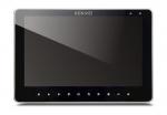 KW-SA20C-PH-W200_B Monitor głośnomówiący 10 cali, wbudowany moduł pamięci, czarny, wideodomofon KENWEI