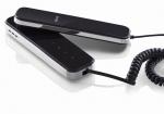 KW-E100F-B Unifon słuchawkowy, czarny KENWEI