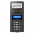 OP-255 G Optima Panel domofonowy, cyfrowy z podświetlaną wizytówką adresową (grafit) ELFON