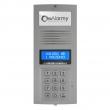 OP-255 P Optima Panel domofonu, cyfrowy z podświetlaną wizytówką adresową (popiel) ELFON