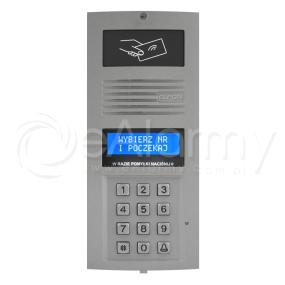 OP-SL255R P Optima Panel cyfrowy SLAVE z czytnikiem RFID, do systemu wielowejściowego (popiel) ELFON