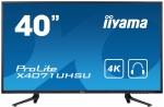 ProLite X4071UHSU-B1 Monitor 40'' 4K, matryca MVA, funkcja PIP, hub USB IIYAMA