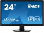 ProLite E2483HS-B1 Monitor 24'' FullHD, matryca TN, HDMI IIYAMA