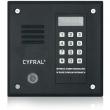 PC-1000D Panel rozmówny z czytnikiem kluczy Dallas CYFRAL - czarny