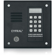 PC-1000DE Panel rozmówny z czytnikiem kluczy Dallas, moduł elektroniki CYFRAL - czarny