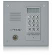 PC-1000DE Panel rozmówny z czytnikiem kluczy Dallas, moduł elektroniki CYFRAL - srebrny
