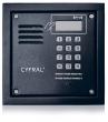 PC-2000RE Panel rozmówny z czytnikiem breloków zbliżeniowych RFID, moduł elektroniki CYFRAL - grafitowy