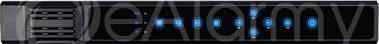 BCS-P-NVR1602-8P Rejestrator sieciowy, 16 kanałów IP, 2x HDD, switch PoE BCS POINT