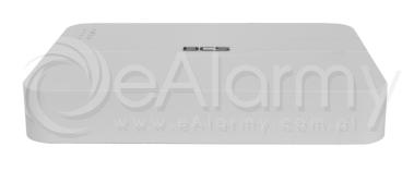 BCS-P-SNVR0401-4P Rejestrator sieciowy SMART, 4 kanały IP, 1x HDD, switch PoE BCS