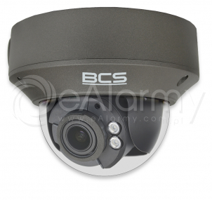 BCS-P-264R3WSA-G Kamera kopułowa IP 4.0 Mpx, 2.8-12mm, zasięg IR do 30m, kolor grafitowy BCS POINT