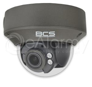 BCS-P-232R3S-G Kamera kopułowa IP 2.0 Mpx, 2.8-12mm, zasięg IR do 30m, kolor grafitowy BCS POINT