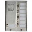 5025/8D Panel rozmówny z daszkiem oraz 8 przyciskami wywołania URMET MIWUS