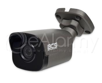 BCS-P-414RW-G Kamera tubowa IP 4.0 Mpx, 3.6mm, zasięg IR do 30m, kolor grafitowy BCS POINT