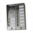 5025/10D Panel rozmówny z daszkiem oraz 10 przyciskami wywołania URMET MIWI