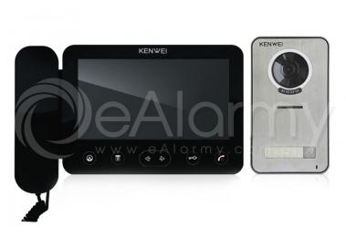 Zestaw: monitor natynkowy KW-E705FC/W100-B + kamera KW-S201C-1B wideodomofon KENWEI