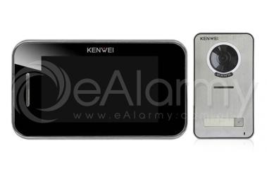 Zestaw: monitor natynkowy KW-S702C/W200-B + kamera KW-S201C-1B wideodomofon KENWEI