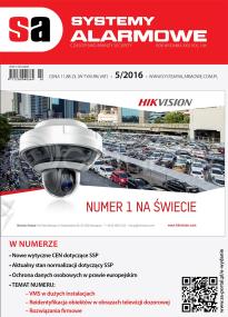 Numer 5/2016 SYSTEMY ALARMOWE - czasopismo branży security