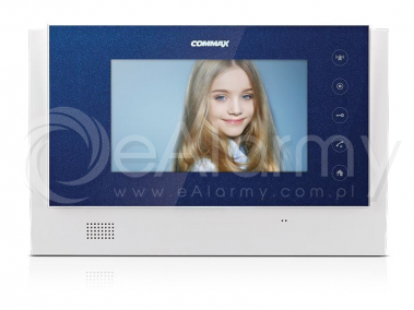"""CDV-70UX(DC) BLUE Monitor kolorowy Smart 7"""", doświetlenie LED, obsługa WiFi, czytnik kart SD COMMAX"""